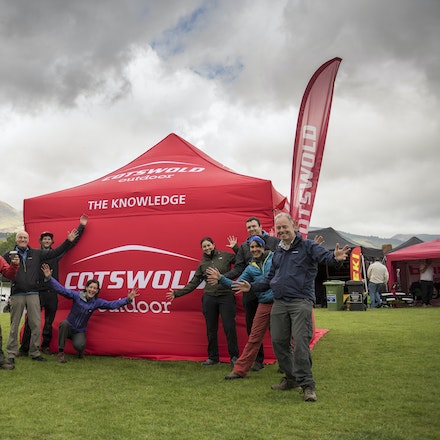 The team of Cotswold Outdoors
