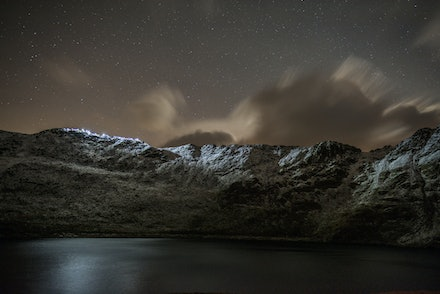 Striding Edge by Torchlight 2016 - Amazing pictures from Striding Edge by Torchlight in the Lake District on Sat 5 November 2016 to raise money for Mountain...