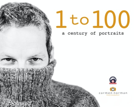 1-100 a century of portraits - A book of photographs of one hundred people one hundred different ages, to raise money for Mountain Rescue.  To order...