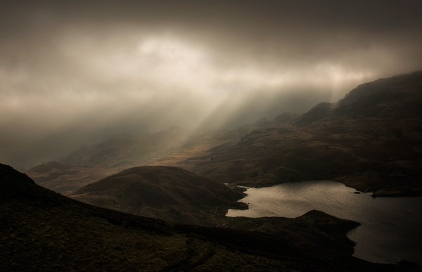 Jan - Light over Easedale Tarn