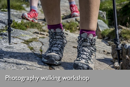 Photography walking workshop