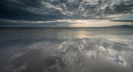 Beach reflections