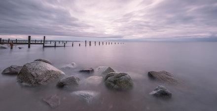 Rocks and groynes