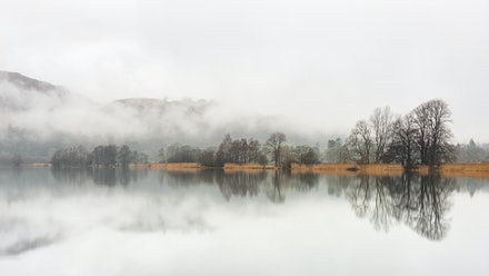 A misty morning at Grasmere