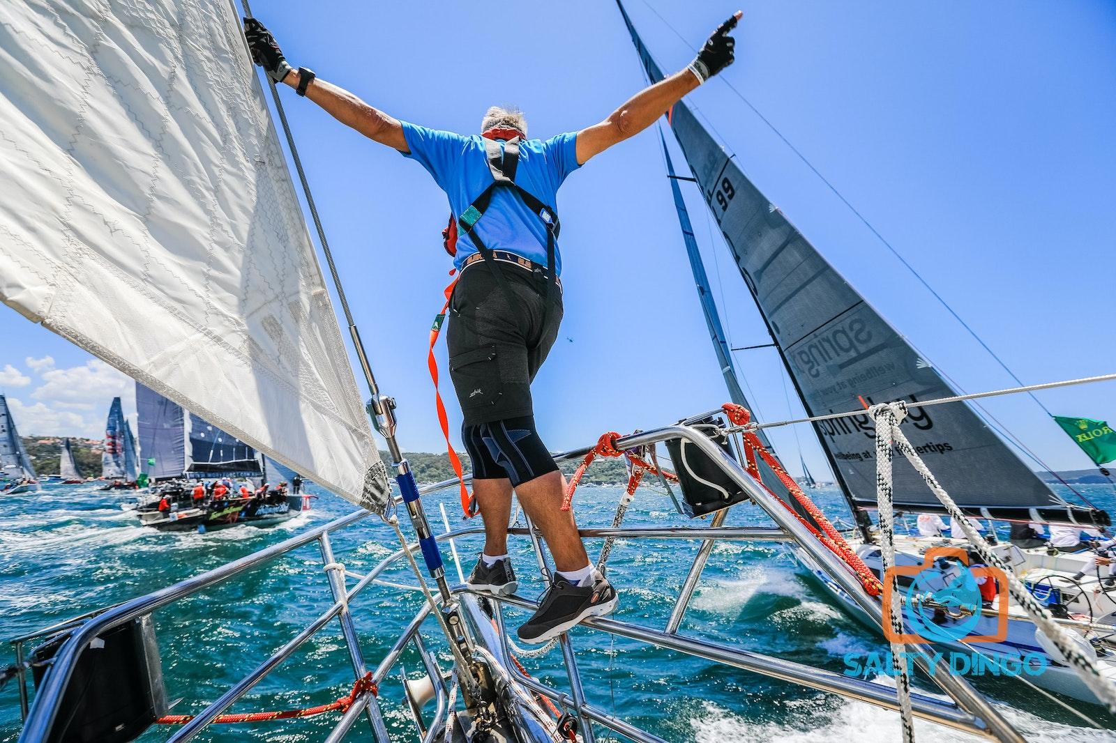 RSHYR Salty Dingo-9323 - Rolex Sydney Hobart Yacht Race 2016 aboard Clipper Ventures 5.  #RSHYR #teamsaltydingo Picture Salty Dingo ALL USE MUST CREDIT...