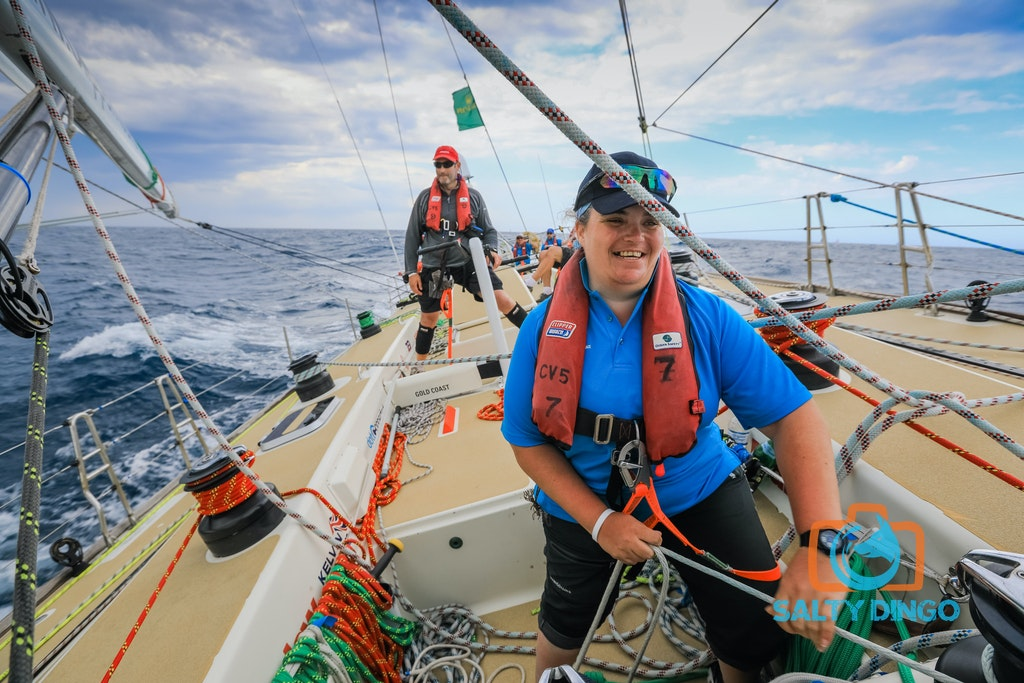 RSHYR Salty Dingo-0022 - Rolex Sydney Hobart Yacht Race 2016 aboard Clipper Ventures 5.  #RSHYR #teamsaltydingo Picture Salty Dingo ALL USE MUST CREDIT...