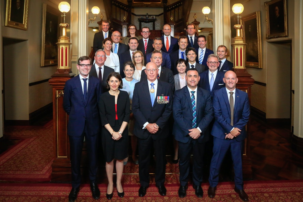 Cabinet swearing-in © SaltyDingo 2017-21843 - NSW Government Cabinet swearing-in ceremony at Government House. Picture by Salty Dingo 2017 © SALTY DINGO