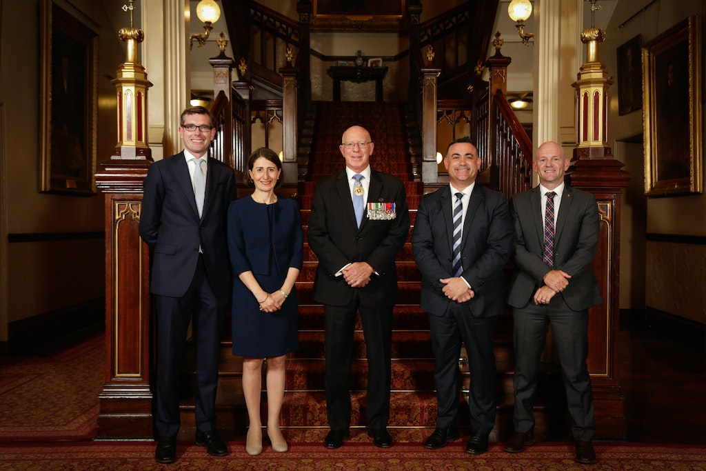 Swearing-In Ceremony © SaltyDingo 2017-20278 - Swearing-in Ceremony for Premier and Deputy Premier at NSW Government House, Sydney. Picture Salty Dingo