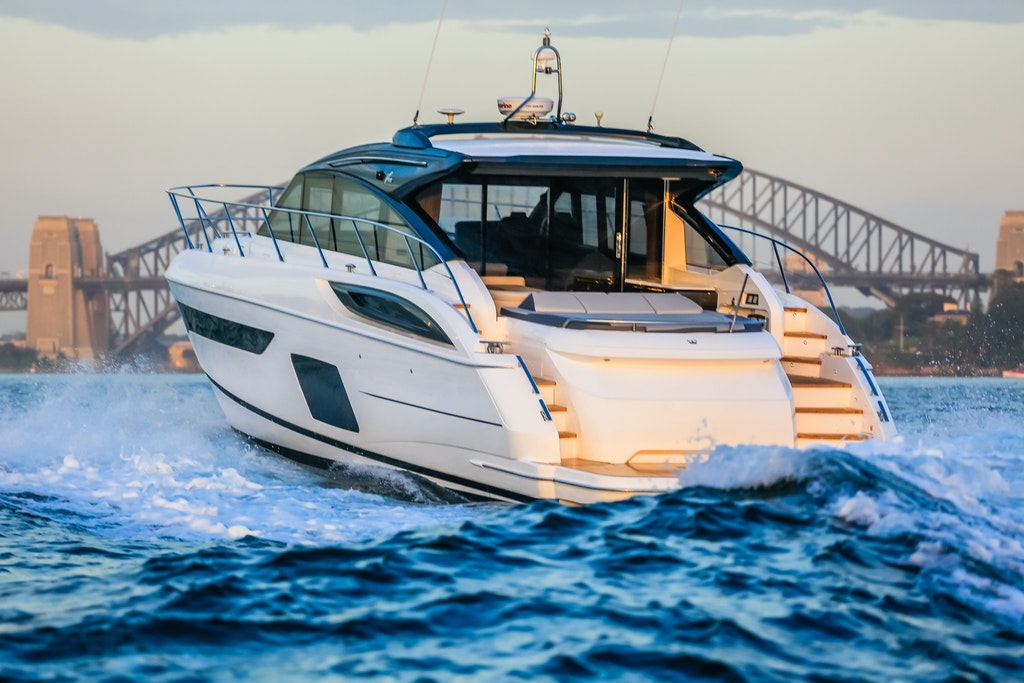 Princess V58 © SaltyDingo 2017-23192 - 17th February 2017, Princess V58 for The Boutique Boat Company. Picture by Salty Dingo - 2017 © SALTY DINGO