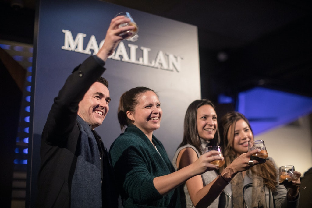 The Macallan © Salty Dingo 2017-0330 - Toast the Macallan dinner at the Roslyn Packer Theatre, Walsh Bay © Salty Dingo 2017
