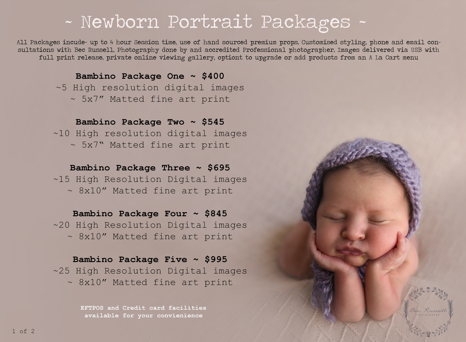 Your customized newborn photography package starts from only 400 newborn1lower