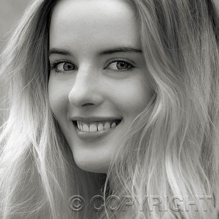 Model Ashley in Monochrome - Black & White photo's have a magical appearance that colour doesn't have. We think she also looks beautiful in monochrome.
