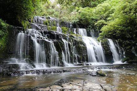purakaunui falls 025 - catlins purakaunui falls