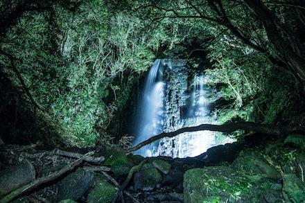 Matai Falls DCM_3633 - Night Time Shot