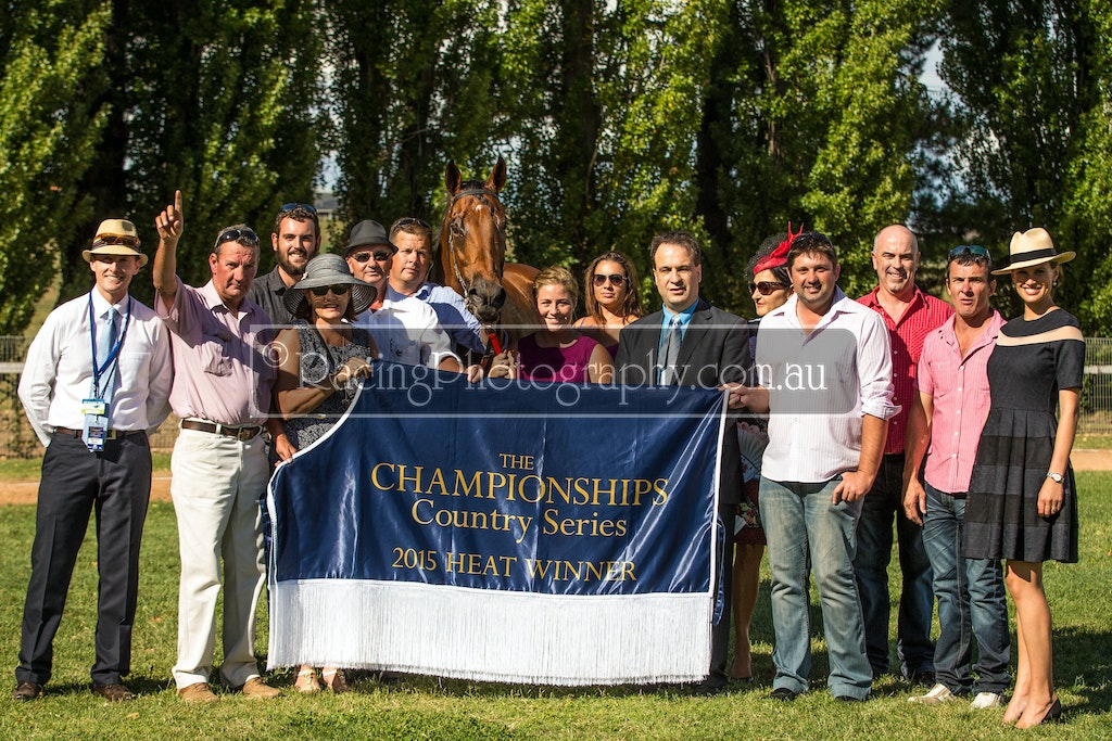 01 Mar 2015 R7-69 - 1st March 2015 - Bathurst Thoroughbred Racing - 2015 The Championships Country Series, Heat 1 - Race 7 - CDRA Qualifier, 1400m - 1st...