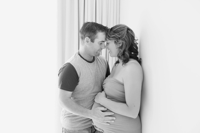 Kaye pregnancy 22 B&W_LR