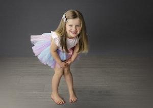 3 year old girl in tutu