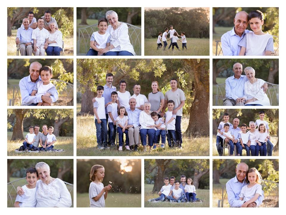 3 generation collage