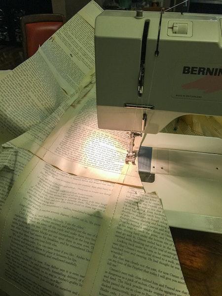 sewing full dress in machine-Marija Sullavan-6