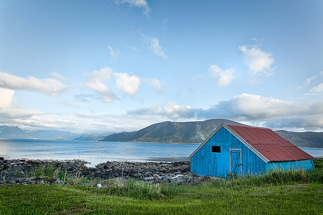 Blue Boat House - Alesund, Norway