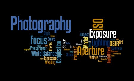 44675195_s - 44675195 - photography word cloud