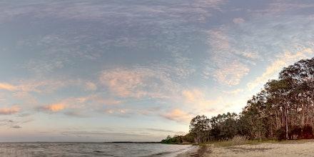 Sunset in Elanda Point