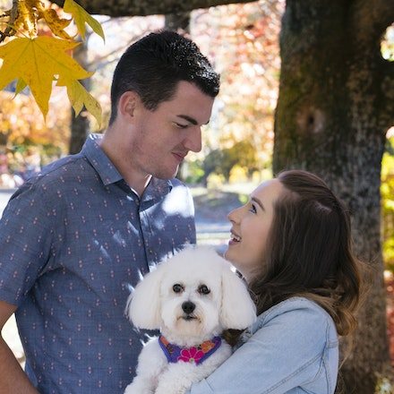 Mitch and Claire - Photos of the gorgeous couple at Mt Wilson, with stunning autumn colours all around.