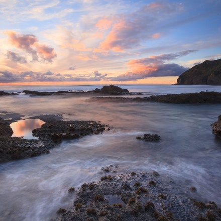 Oneil Bay - Sunset Oneil Bay West Auckland
