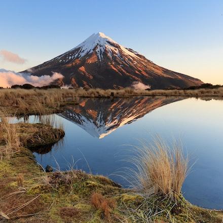 Reflections Mt Taranaki - Reflections pouaki tarn