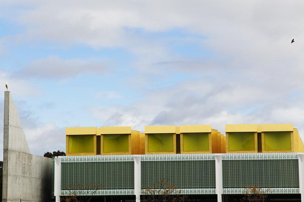 Australian Islamic Centre Rooftop