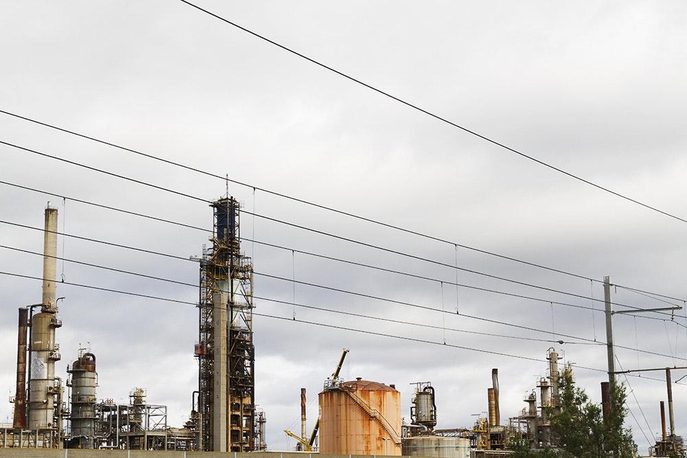 Mobil Oil Refinery