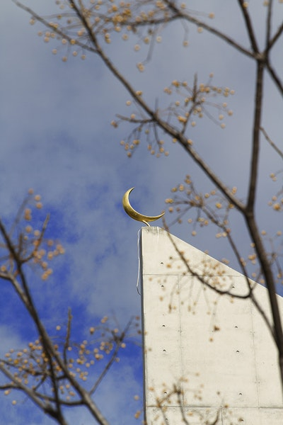24 Carat Gold Plated Crescent