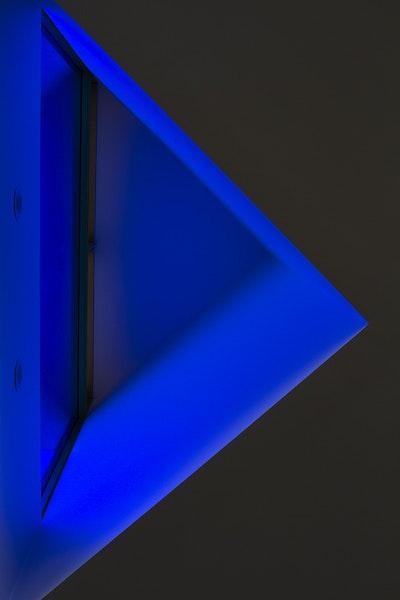 Blue Lit Window