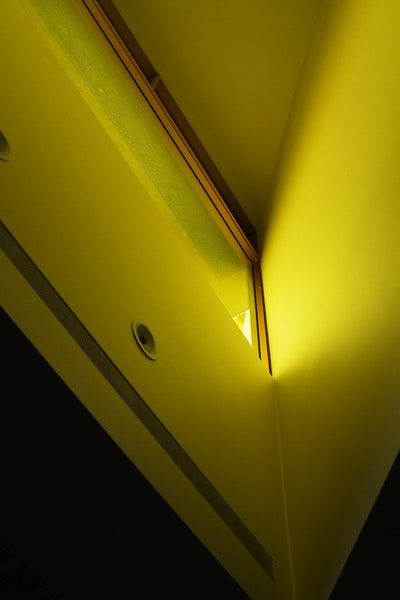 Yellow Lit Window