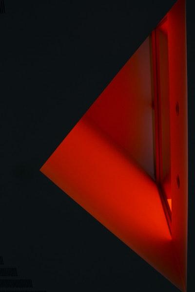 Orange Lit Window