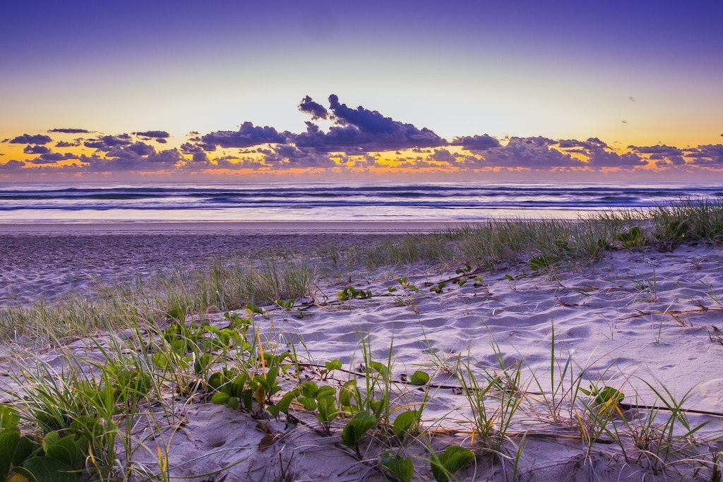 Broadbeach Dawn - Gold Coast - Broadbeach is a suburb of the City of Gold Coast, Queensland, Australia.