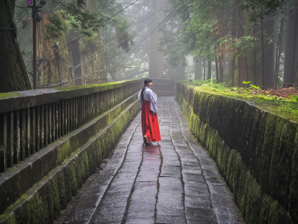 Miko in Nikko - Finalist in 2016 Travel Photographer of the Year (www.tpoty.com)