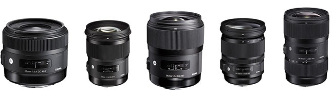 sigma-art-lenses