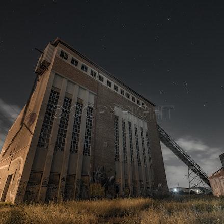 DSCF4286 - The famous Bradmill Denim factory in Yarraville. Once a thriving industry but sadly fell away. asasddddddddddd