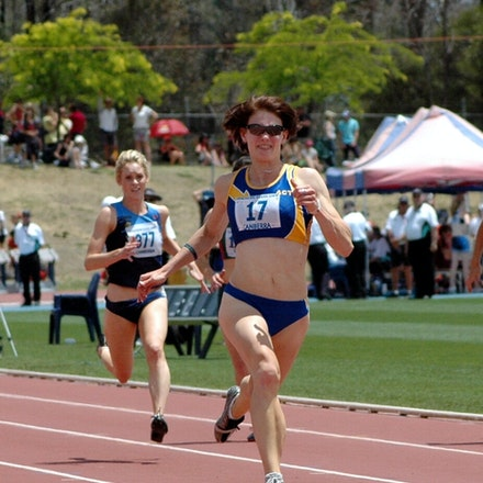 Melissa Breen - Hometown athlete Melissa Breen was dominant in the sprints at the 2008 Pacific School Games in Canberra.