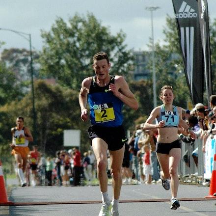 Craig Mottram - Fourth placegetter in the inaugural Great Australian Run in 2008, Craig Mottram.