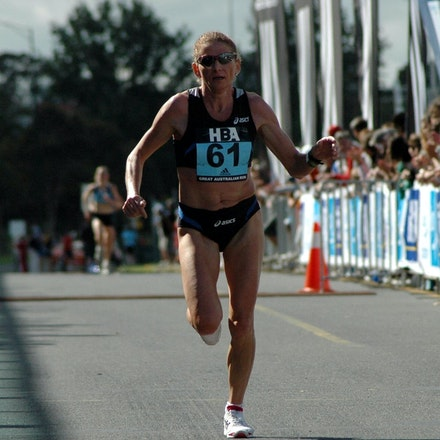 Constantina Dita - 2008 Great Australian Run.