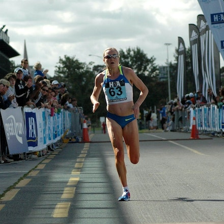 Benita Johnson - Benita Johnson finished fifth in the 2008 Great Australian Run with a performance of 52:08 over the 15km course in Melbourne.