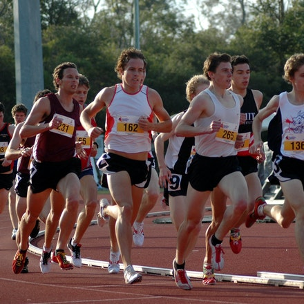 Men's 1500m - 2007 Australian University Games