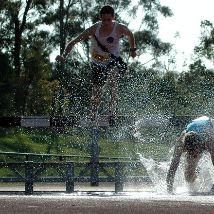 Steeplechase - 2007 Australian University Games.