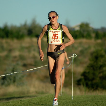 Benita Willis - Australian trial for 2008 World Cross Country Championships.