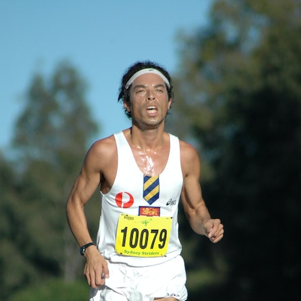 Russell Dessaix-Chin - Sydney Striders/Athletics NSW 10km at Sydney Olympic Park in 2008.