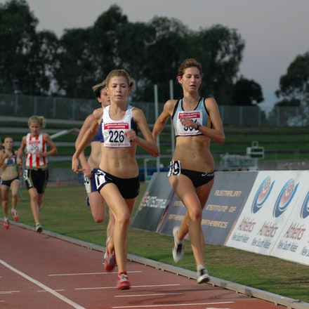 Tighe and Tamsett - 2007 NSW 3000m Championships.