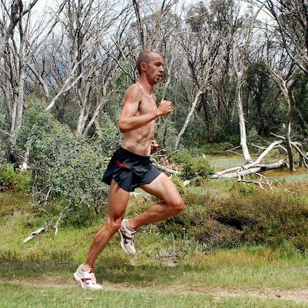 Jeff Hunt - Jeff Hunt in training at Falls Creek in December 2008.