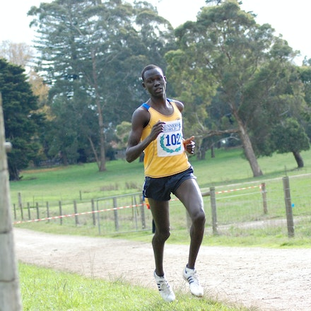 Duer Yoa - Duer Yoa was the bronze medallist in the 2009 Victorian 8km cross country championships held at Lardner Park, Warragul.